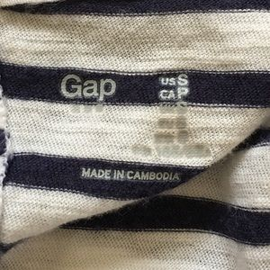 GAP Tops - [Gap] Stripe Cap Sleeve Top